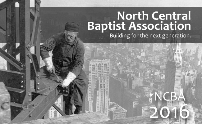 North Central Baptist Association is a community of churches networking through strategic missional efforts to fulfill the Great Commission locally, nationally and internationally.